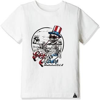Quiksilver (クイックシルバー) - (クイックシルバー) QUIKSILVER Tシャツ CHEERS ST KIDS KST172102 [ボーイズ] KST172102 WHT 120
