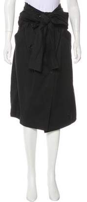 Max Mara Knee-length Double-Breasted Skirt