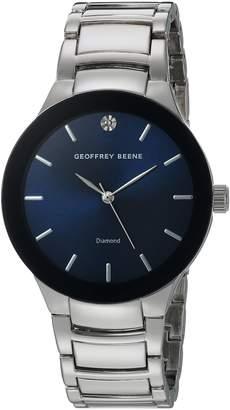 Geoffrey Beene Men's Quartz Metal and Alloy Dress Watch, Color:Silver-Toned (Model: GB8087SLNV)