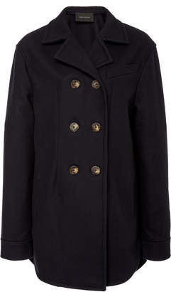Cédric Charlier Double Breasted Wool-Blend Coat