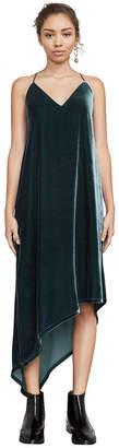 BCBGMAXAZRIA Elana Asymmetrical Tank Dress