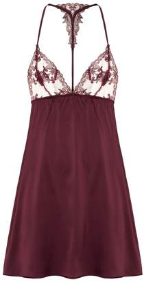 Fleur of England Silk Embroidered Chemise