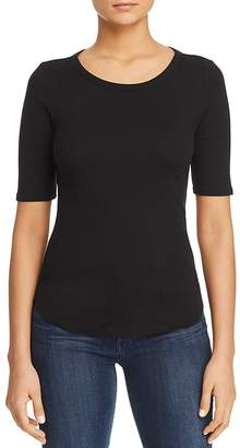 Three Dots Heritage Keyhole Knit Top