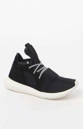 adidas Women's Black Tubular Defiant Sneakers $110 thestylecure.com