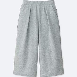 Uniqlo Women's Airism Wide Cropped Pants