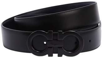 Salvatore Ferragamo 35mm Paloma Reversible Leather Belt