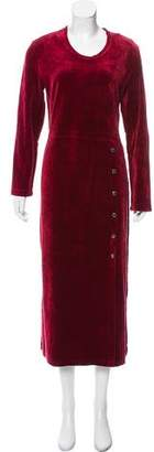 Sonia Rykiel Velvet Maxi Dress
