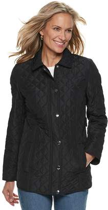 Croft & Barrow Women's Quilted Snap-Front Jacket