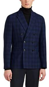 Paul Smith MEN'S SOHO PLAID WOOL JACQUARD DOUBLE-BREASTED SPORTCOAT