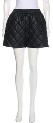 Stella McCartney 2016 Vegan Bermuda Quilted Shorts w/ Tags