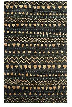 Bohemian Collection Ikat Area Rug, 5' x 8'