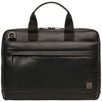 Knomo Foster Leather Briefcase for 14 Laptops