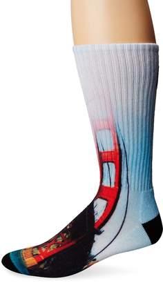 HUF Men's City Crew Socks