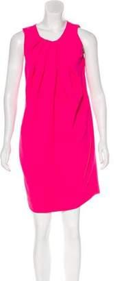 L'Agence Pleated Mini Dress