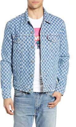 Levi's Checker Trucker Jacket