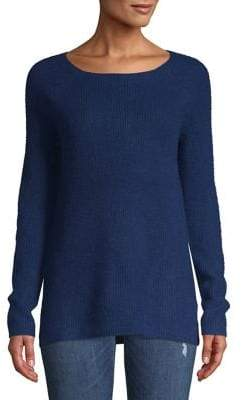 Lord & Taylor Textured Cashmere Sweater
