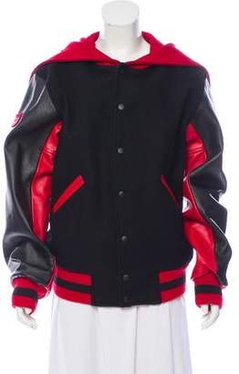 Opening Ceremony Wool Logo-Accented Jacket w/ Tags