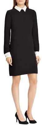Ralph Lauren Contrast Shift Dress