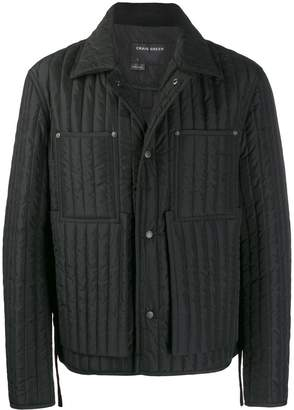 Craig Green quilted short-length jacket