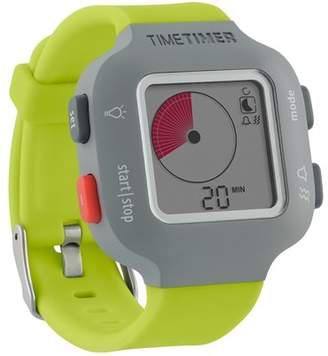Time Timer LLC The Time Timer Watch PLUS, Small, Lime Green