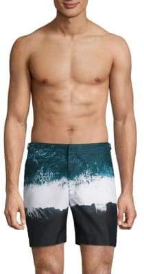 Orlebar Brown Oceans Print Board Shorts