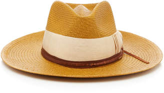 Nick Fouquet M'O Exclusive Essaouir Straw Fedora