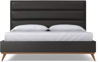 Apt2B Cooper Upholstered Bed VEGAN LEATHER
