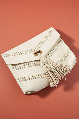 Anthropologie Camilla Corded Clutch