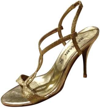 Balmain Glitter sandals