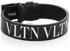 Valentino VLTN Leather Medium Bracelet