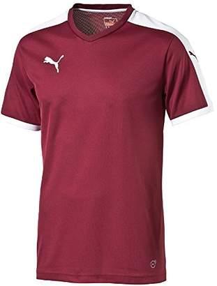 Puma Children's Short-Sleeve Shirt Dip - Red