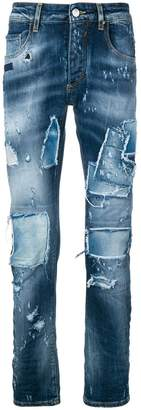 Frankie Morello Coven distressed skinny jeans