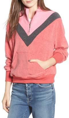 Wildfox Couture Soto Warm-Up Sweatshirt
