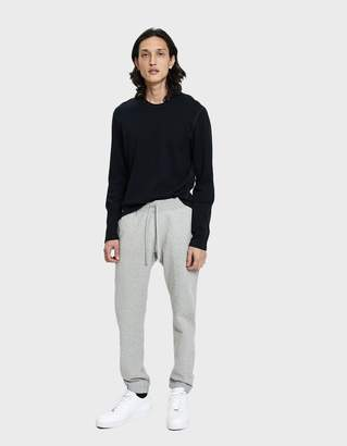 Reigning Champ Heavyweight Terry Cuffed Sweatpant in Heather Grey