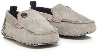 Ted Baker Baby Boys' Grey Suede Booties