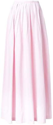 Michael Kors long pleated skirt