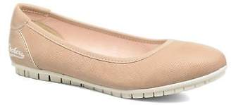 Dockers Women's Jama Rounded toe Ballet Pumps in Pink
