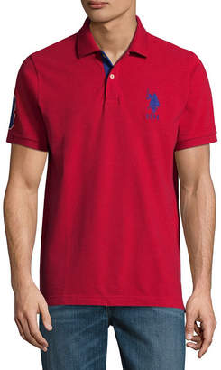 cd40dd8e1 at JCPenney · U.S. Polo Assn. USPA Short Sleeve Big Pony Contrast Collar  Polo Shirt
