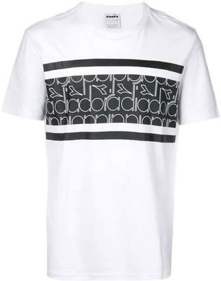 Diadora logo panel T-shirt