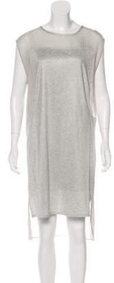 Helmut Lang Midi Sleeveless Dress