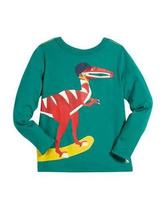 Joules Skateboarding Dino Graphic Long-Sleeve Tee, Size 2-6
