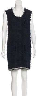 Lanvin Tweed Mini Dress