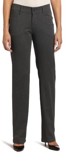 Lee Women's Misses Relaxed Fit Plain Front Twill Pant