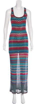 Haute Hippie Knit Maxi Dress