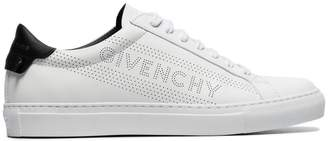 Givenchy white Urban Street leather low top sneakers