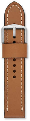 Fossil 22mm Light Brown Leather Watch Strap