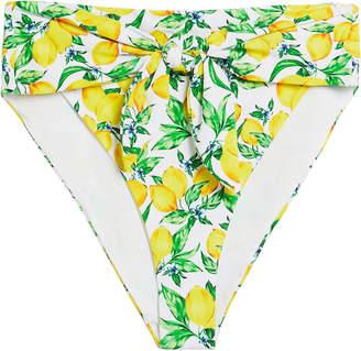 Onia Riviera High-Waisted Bikini Bottoms