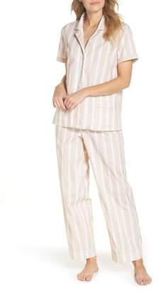 J.Crew J. Crew Striped Sleep Short Sleeve Pajamas