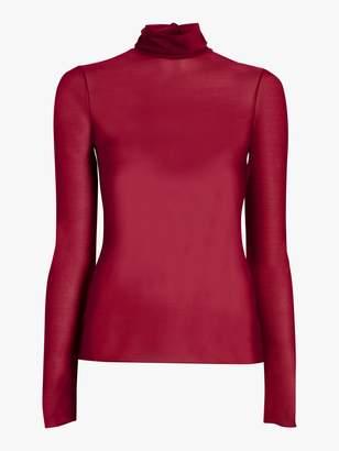 Victoria Beckham Long Sleeve Polo Neck