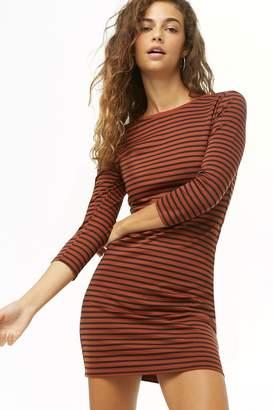 Forever 21 Striped Mini Dress